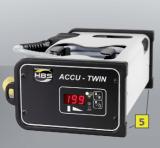 Аппарат для приварки шпилек конденсаторным разрядом с пистолетом для одновременной приварки двух шпилек М3.