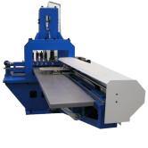 Гидравлическая пробивная машина для медных заготовок тип CU Profi