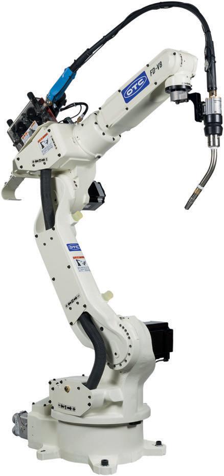 Сварочный робот OTC -Daihen FD-V8